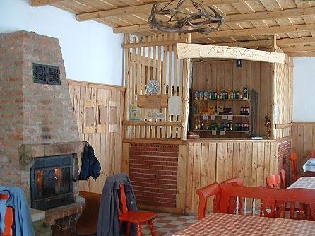 Ágasvári Turistaház étkező