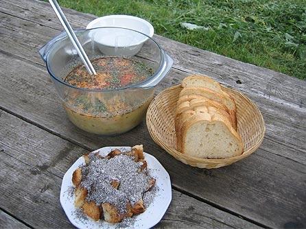 Ágasváron készült ételek